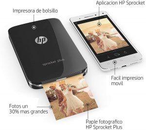 Impresora fotográfica HP Sprocket Plus
